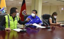 Las autoridades de Quito anunciaron los resultados.