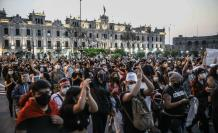 Protestas destitución Perú