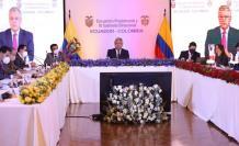 Colombia- Ecuador- gabinete- frontera
