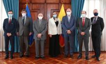 Embajadores+Unión Europea+Ecuador