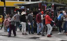 En la capital se registran aglomeraciones.