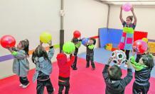 Los centros infantiles operaron con dificultades.