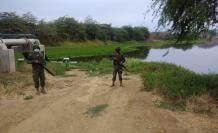 los militares en el canal del trasvase