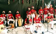 Grupo de música andina toca esta noche en un concierto navideño on-line.