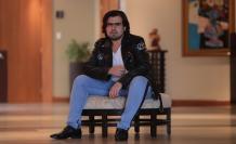 José Andrés, guayaquileño de 29 años de edad y creador de las escenas en miniaturas.