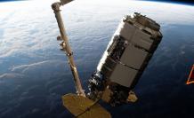 La nave de carga Cygnus abandona la EEI para una misión orbital