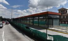 La parada del Metro en la Universidad Central generó demoras.