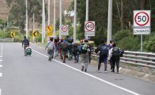 El cierre de fronteras por la pandemia de la covid-19 no ha impedido en el último tiempo un creciente movimiento migratorio de venezolanos por la región, lo que algunos han atribuido quizás a las pasadas elecciones en Venezuela.