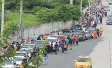 Guayaquil fila