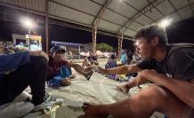 Migrantes en Huaquillas