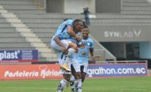 Angelo Quiñónez puso el primer gol del Guayaquil City.