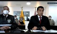 El comandante de la Policía y el ministro de Gobierno comparecen ante el Pleno de la Asamblea. 1 de marzo de 2021.