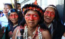 Las mujeres indígenas afirman que los recursos se siguen extrayendo sin que los indígenas hayan dado su consentimiento y sin que se respete su derecho a la autodeterminación.