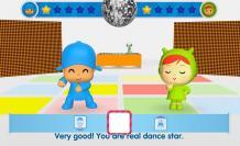 Escena del videojuego Pocoyó Party.
