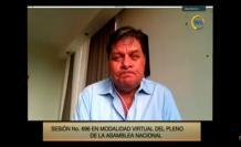 William Garzón, presidente de la Comisión de Salud de la Asamblea, 23 mar. 21