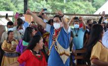 Andrés Arauz tiene el apoyo de los pueblos amazónicos.