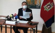 Santiago Guarderas denunció irregularidades en el Municipio de Quito.