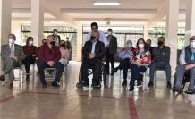 Lenín Moreno acudió a votar con sus ministros.