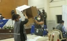 En la Junta Provincial se revisan los votos de personas privadas de la libertad.