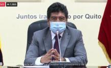 Yunda presiden sesión del Concejo Metropolitano, 13 abr. 21