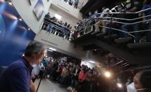 Guillermo Lasso, presidente electo, visita las instalaciones de TC Televisión