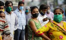 India atraviesa un colapso hospitalario por covid-19.