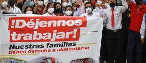 protesta Santa Elena