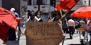 Protesta universitaria_recorte presupuesto 2020