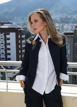 Mónica Heller, empresaria quiteña