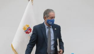 El ministro de Salud, Juan Carlos Zevallos