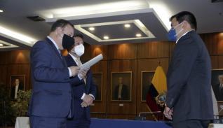 El representante del COE nacional presentó el proyecto de ley.