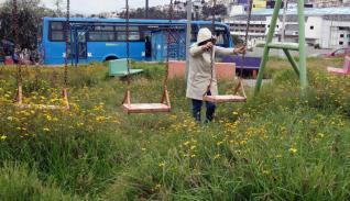 Falta de mantenimiento en parques de Quito