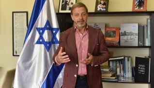 El embajador de Israel en Ecuador habla de la nueva normalidad.