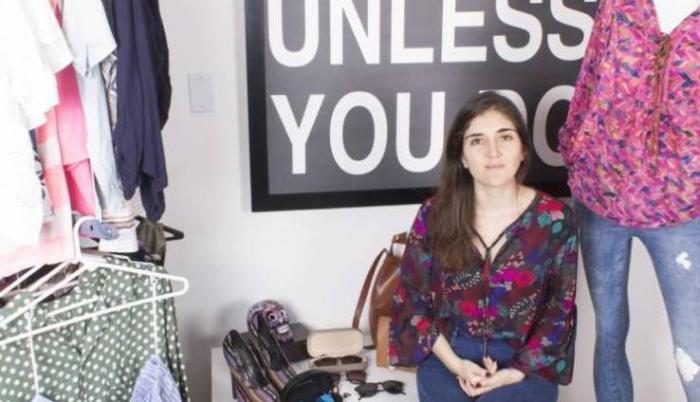 Paula Ceballos es seguidora de la moda sostenible