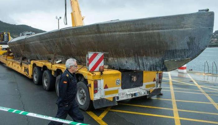 narcosubmarino reflotado galicia españa