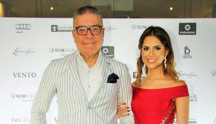 Vito Muñoz y su esposa.