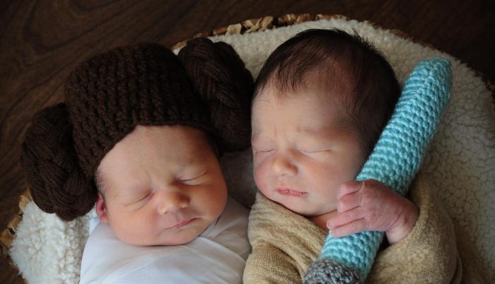 bebés star wars