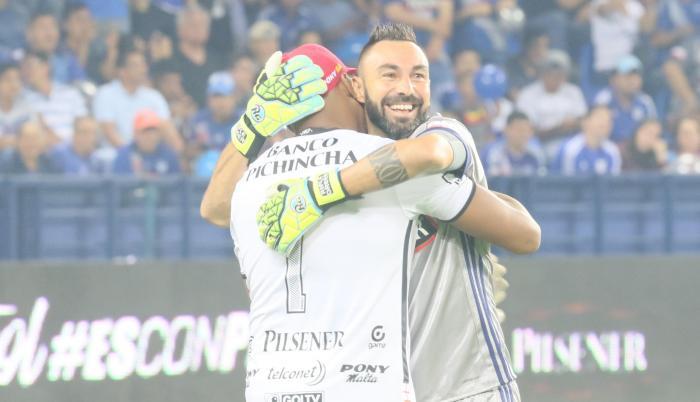 Máximo Banguera y Esteban Dreer