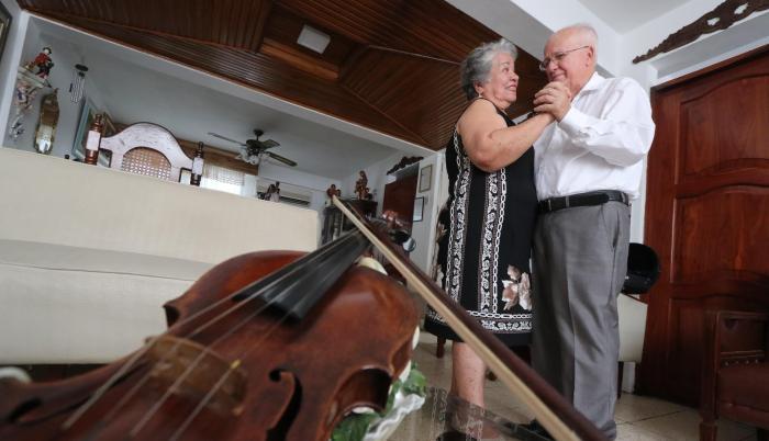 pareja de ancianos san valentin