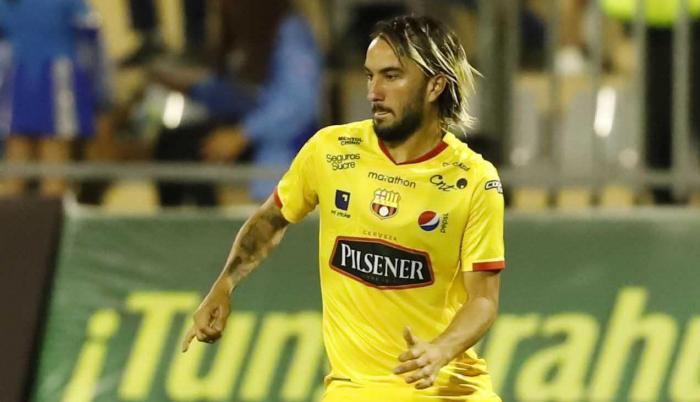 Imagen de archivo de Sebastián Pérez, jugador de Barcelona.