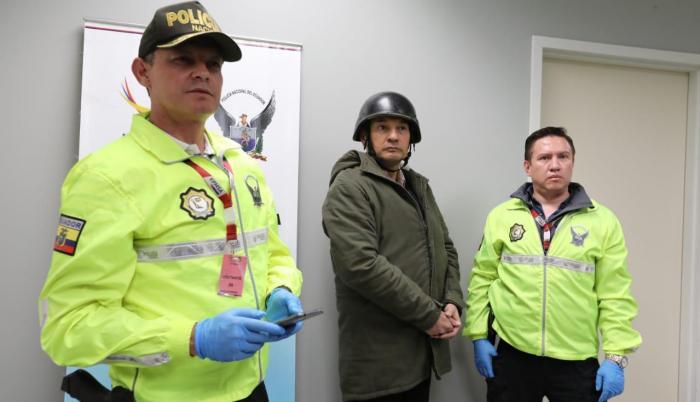 Febrero 21 de 2020. El extitular de Senain, Pablo Romero, llegó a Ecuador. Es investigado por caso Balda y Caminito.