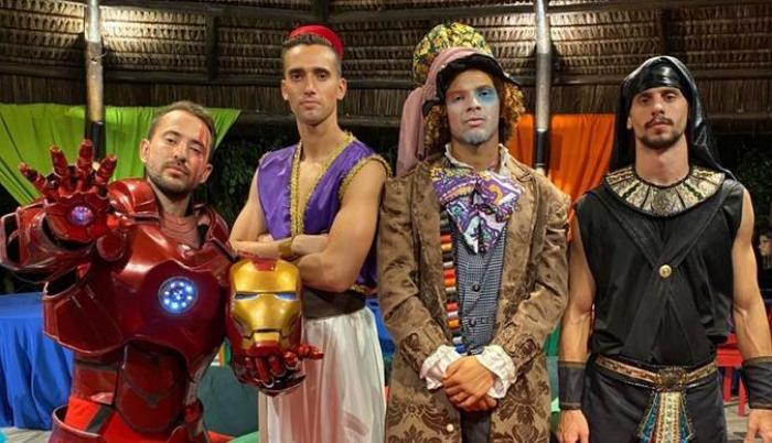 Flamengo fiesta disfraces