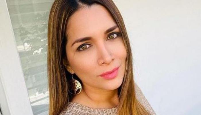 Gabriela Pazmiño Yépez presenta síntomas de COVID-19. Foto: Instagram.