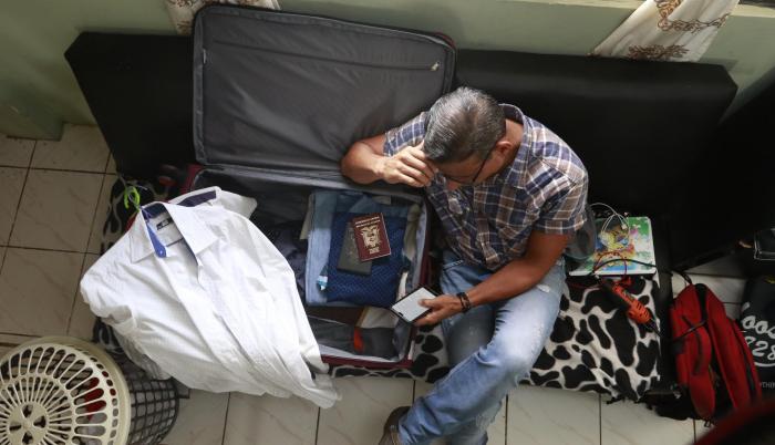 resignacion de viajar