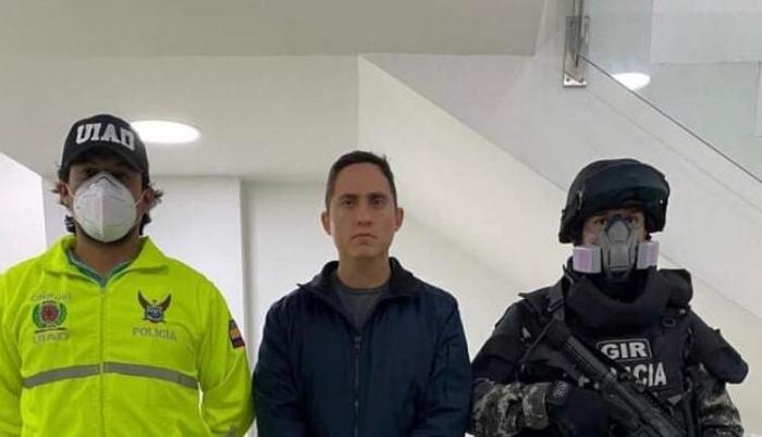 Daniel Mendoza, asambleísta de Alianza País, fue detenido este viernes 5 de junio de 2020.