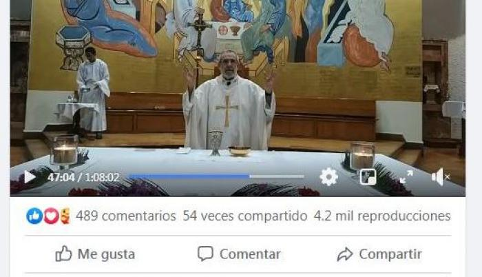 Screenshot-Misa Santo Tomas de Aquino