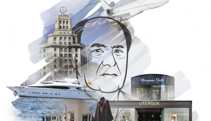 Amancio Ortega, millonario español.