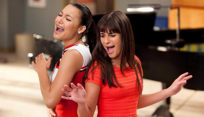 Naya Rivera y Lea Michele