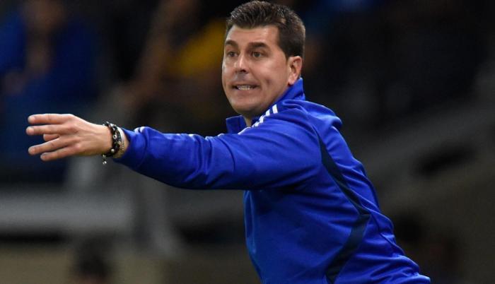 Imagen referencial. Ismael Rescalvo, director técnico del Club Sport Emelec.