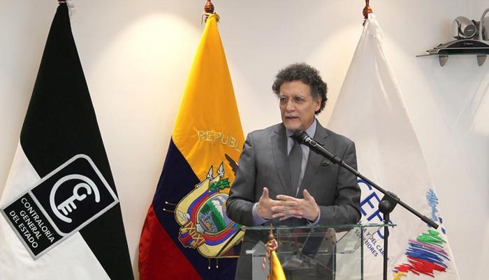 Pablo Celi, contralor subrogante.